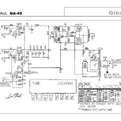 Les Paul Wiring Diagram For Transformer Gibson Ga-40 Sch Service Manual Download, Schematics, Eeprom, Repair Info ...