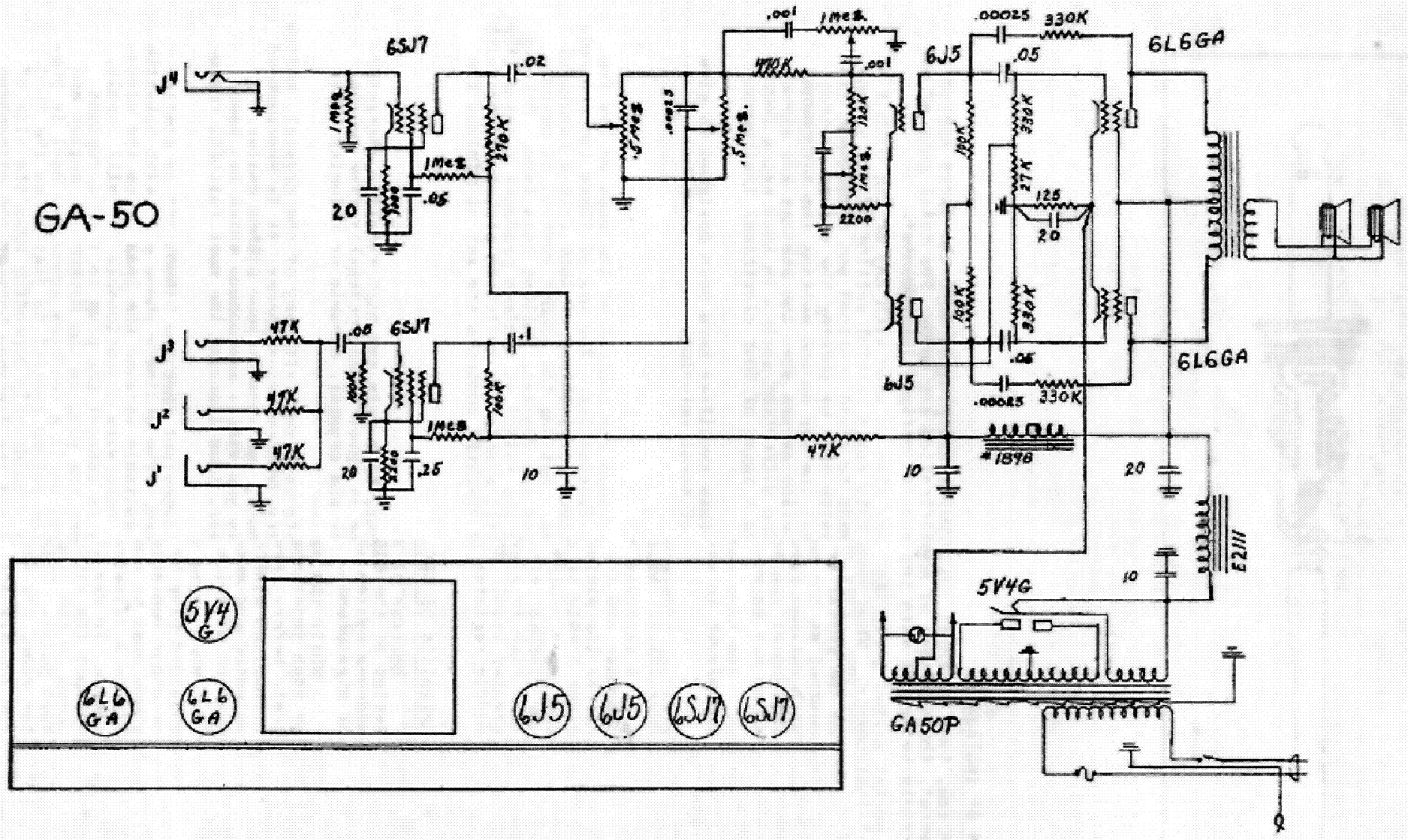Gibson Ga 8t Schematic Service Manual Free Download