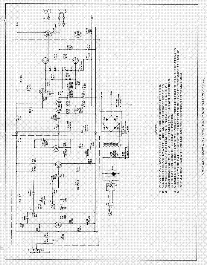 GIBSON GA-30RVT SCHEMATIC Service Manual download