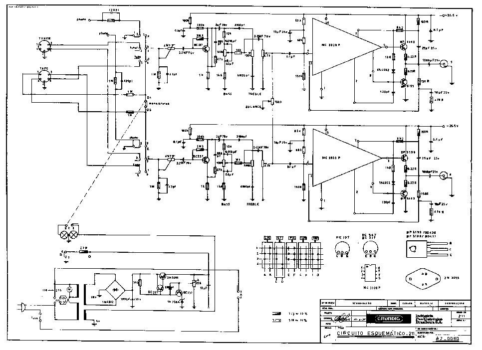 GRUNDIG TK6 SCH Service Manual download, schematics