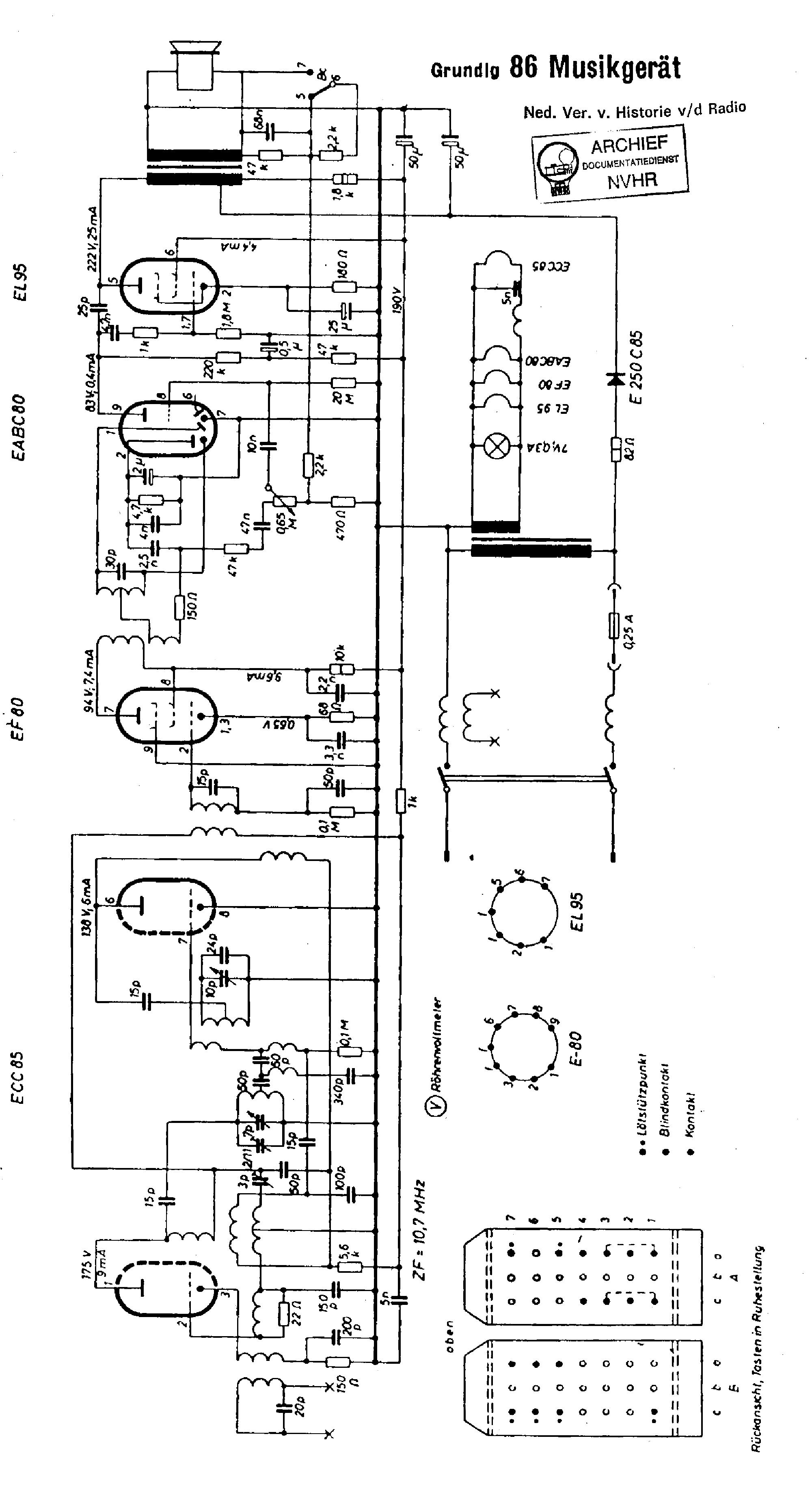 GRUNDIG CF-5500-2 Service Manual download, schematics