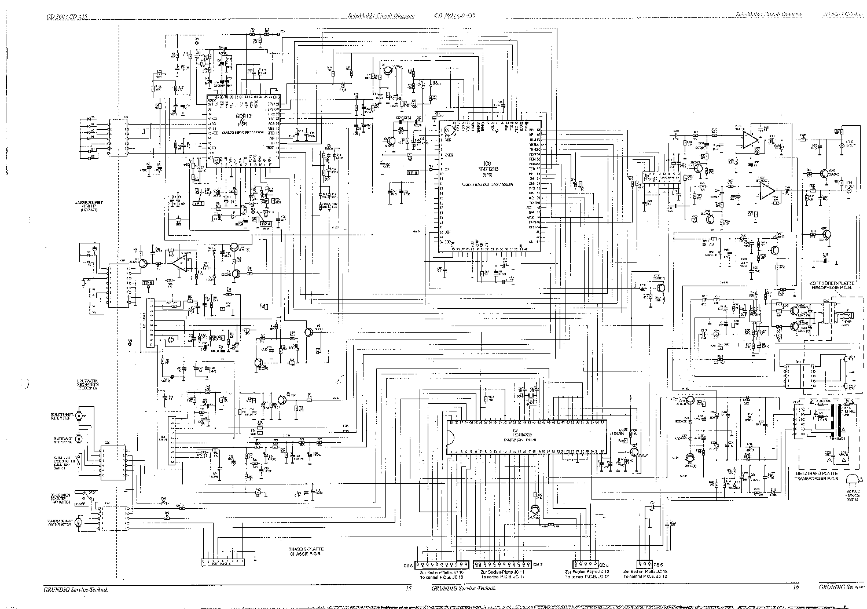 GRUNDIG CD360,CD435 SM Service Manual download, schematics