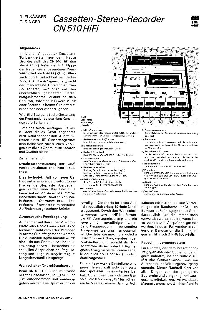 GRUNDIG M16 Service Manual download, schematics, eeprom