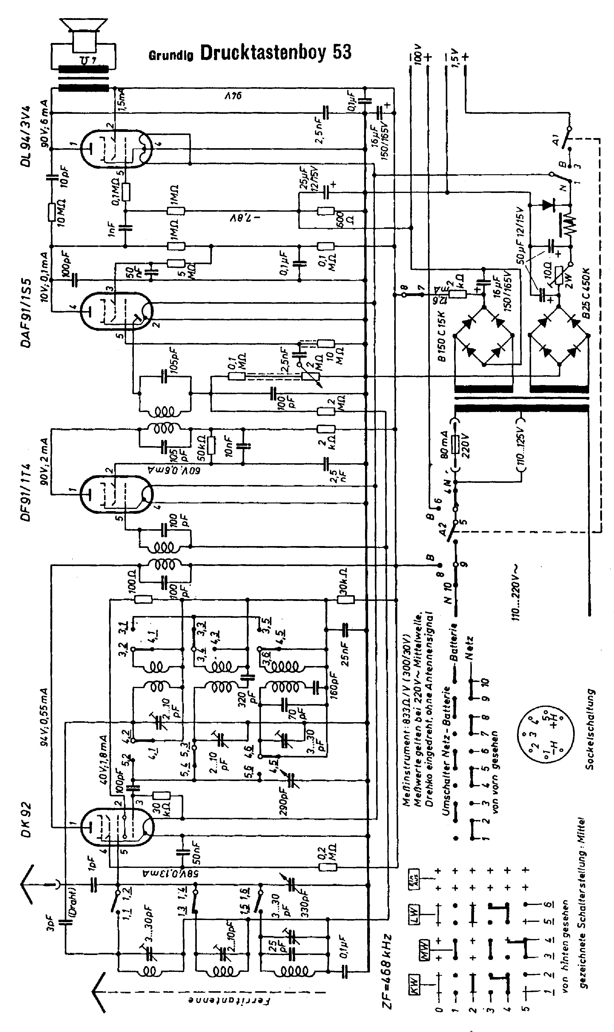 GRUNDIG ST6000 Service Manual download, schematics, eeprom