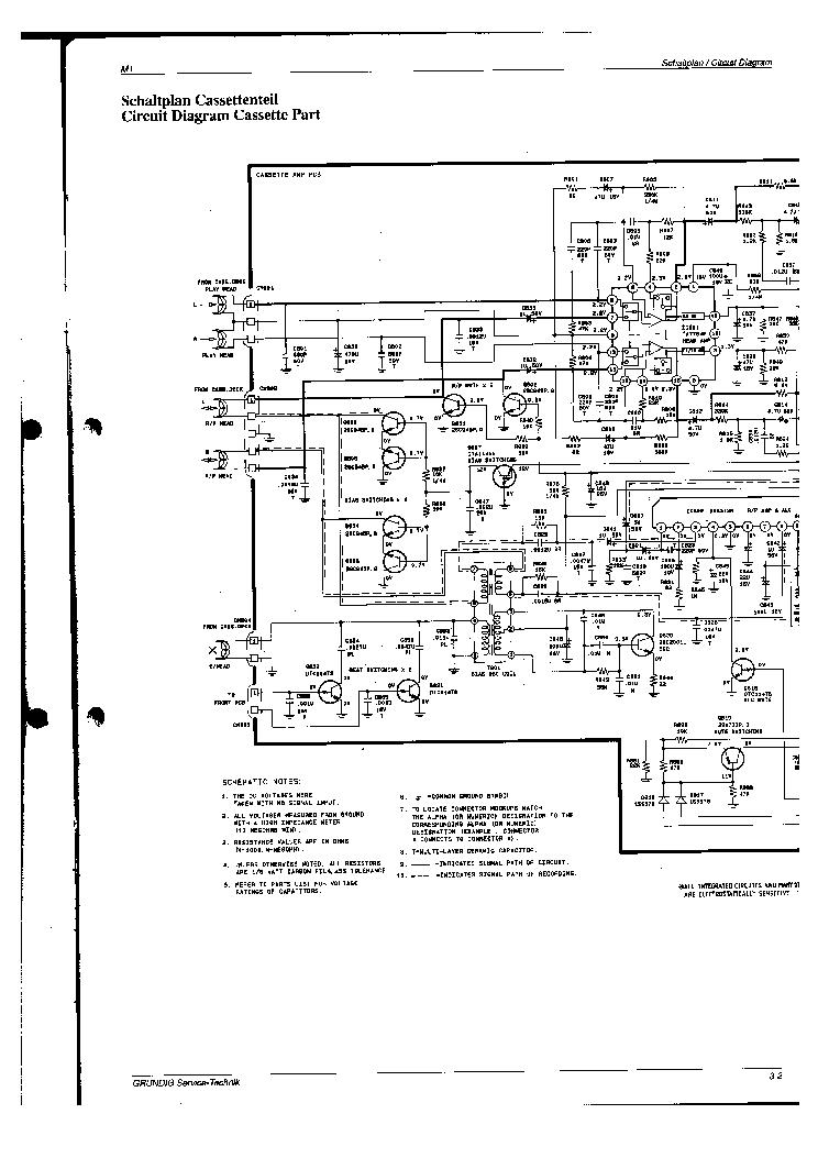 GRUNDIG M-1 M1 SCH Service Manual download, schematics