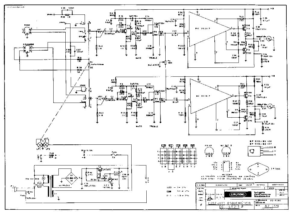 GRUNDIG UMS 200 Service Manual download, schematics
