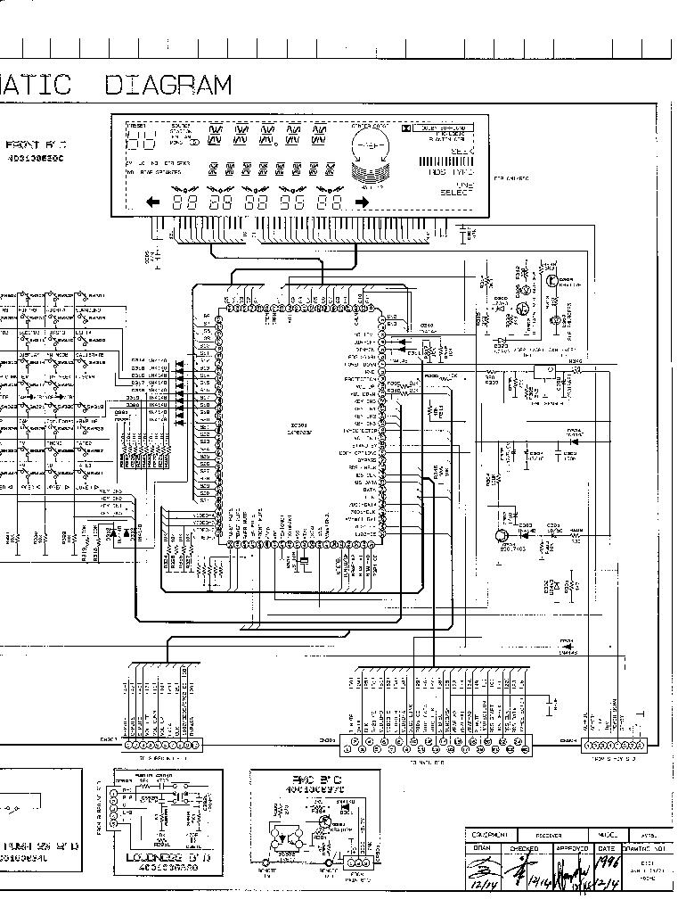 HARMAN KARDON AVR-50 SCH Service Manual download