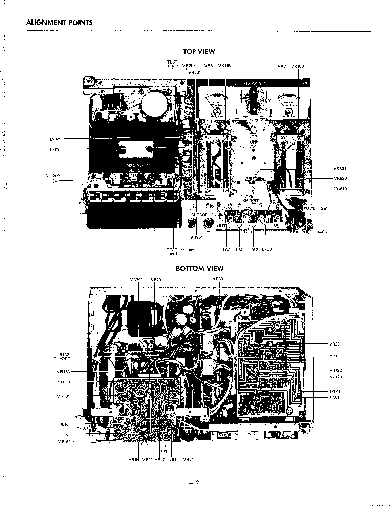 THE HARMAN KARDON HK2000 Service Manual download