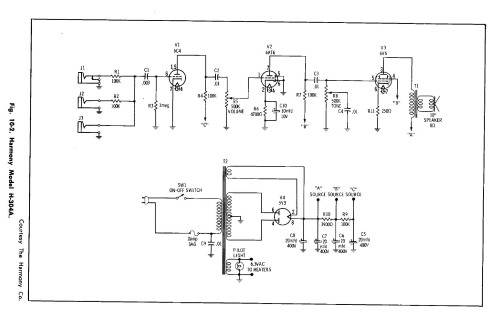 small resolution of harmony amp schematic wiring diagram harmony amp schematic