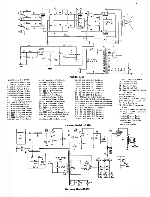 small resolution of harmony h306a sch service manual download schematics eeprom harmony h306a schematic wiring amp