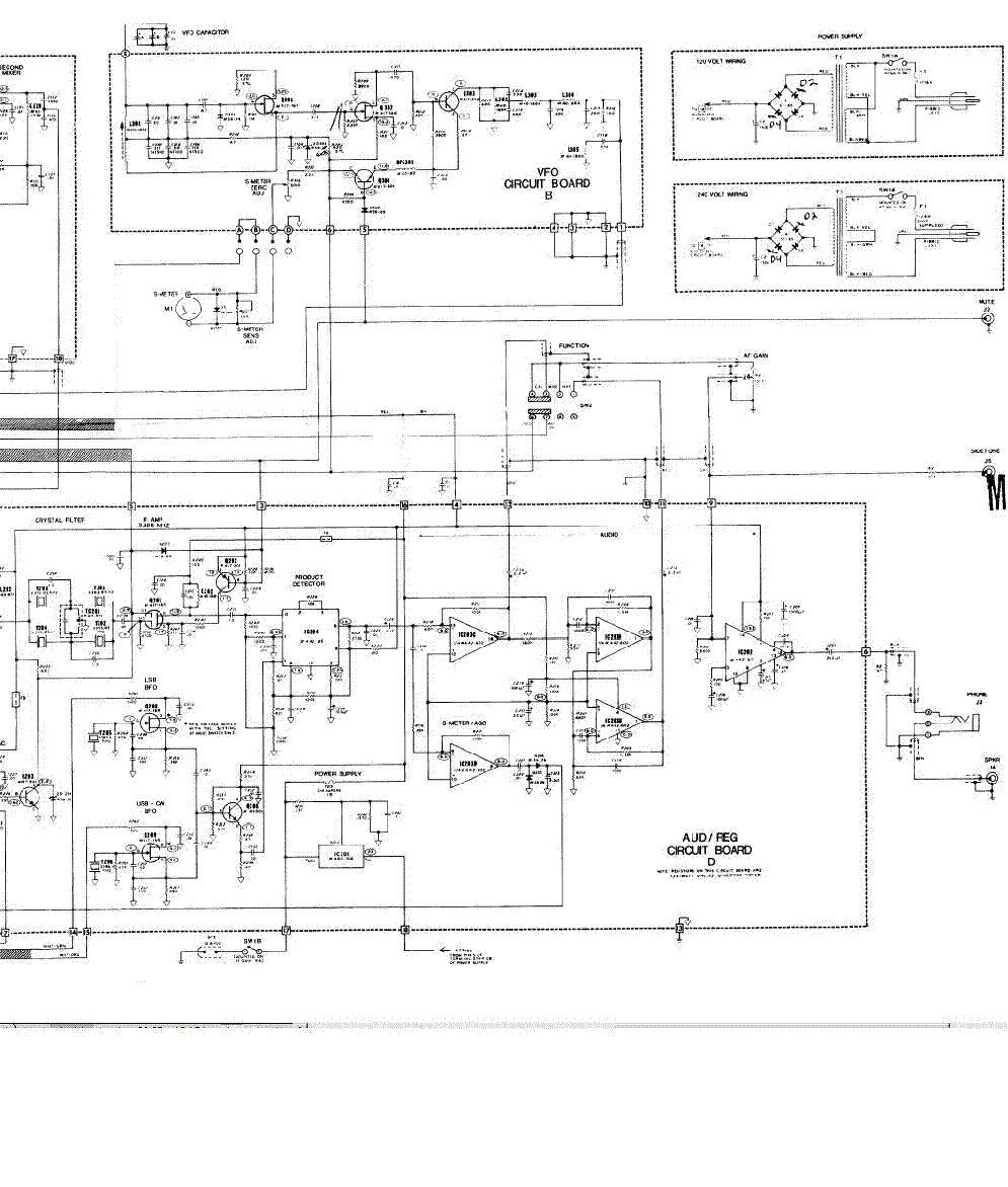 hight resolution of heathkit hr 1160 sch service manual 2nd page