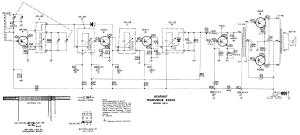 HEATHKIT XR2 6 TRANSISTOR RADIO SCHEMATIC Service Manual