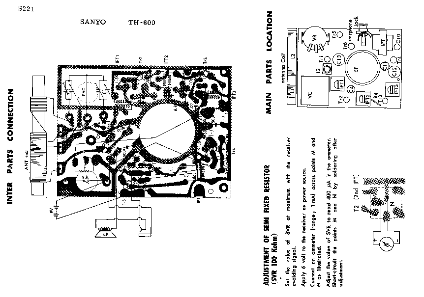 HITACHI TH-600 SM Service Manual download, schematics
