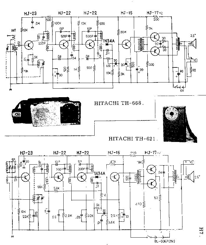 HITACHI SR-804 Service Manual download, schematics, eeprom