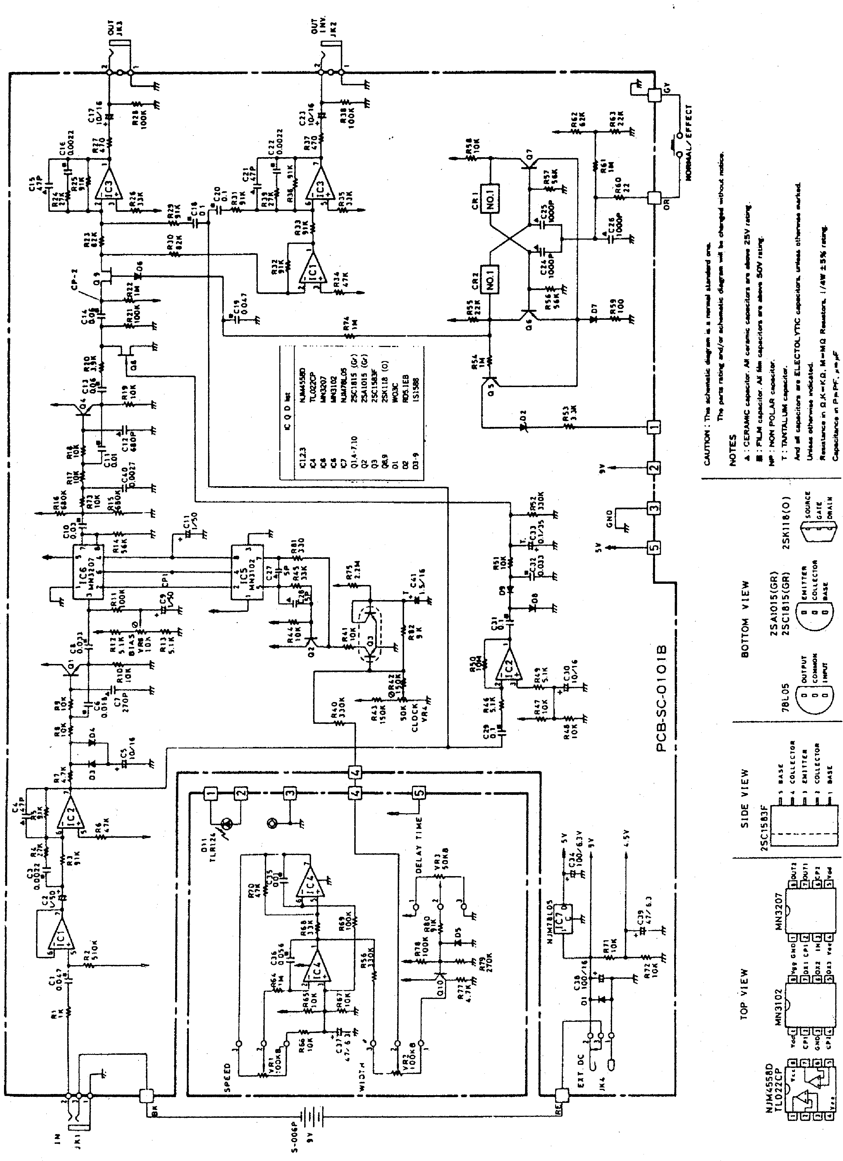 Ibanez Sc10 Sch Service Manual Download Schematics