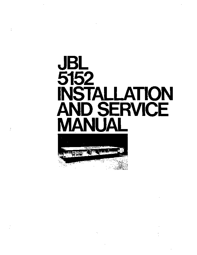 JBL LXE770 Service Manual download, schematics, eeprom