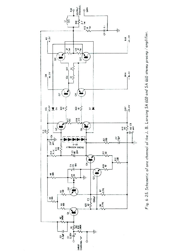 JBL SA600-660-PWR-SCH 2 Service Manual download