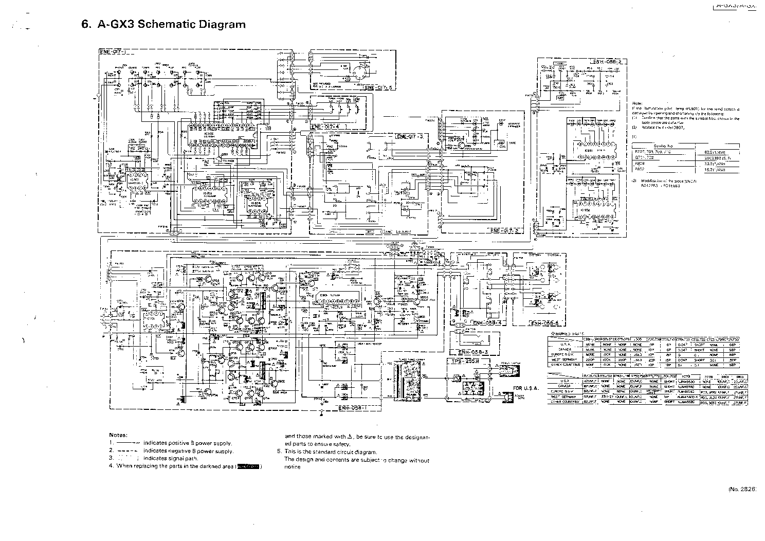 JVC A-GX3 SCH Service Manual download, schematics, eeprom