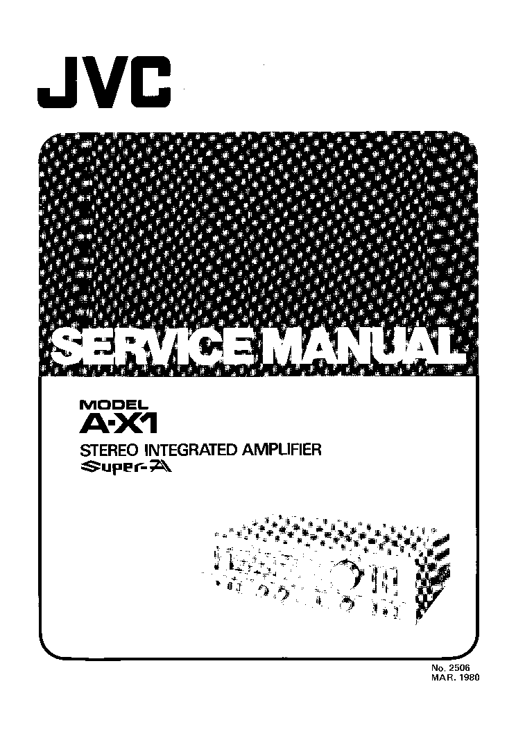 JVC MX-GT80 SCH Service Manual free download, schematics