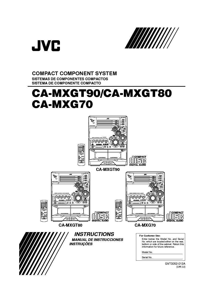 JVC CH-X1500RF SCHEM-CD Service Manual download