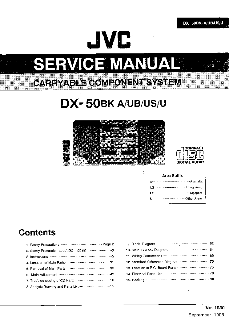 JVC CA-C220 Service Manual free download, schematics