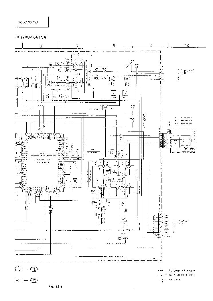 JVC PC-X105 SCH Service Manual download, schematics