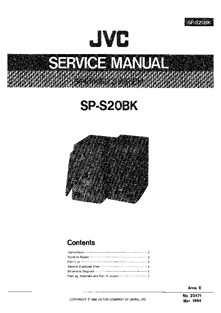JVC RC-QS11 Service Manual download, schematics, eeprom
