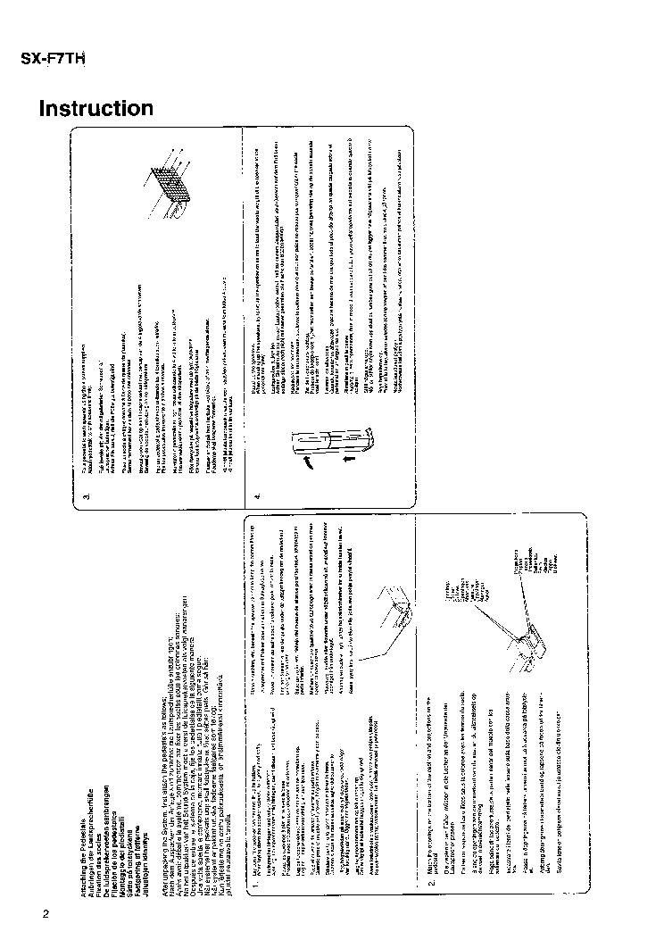 JVC SX-F7TH Service Manual download, schematics, eeprom