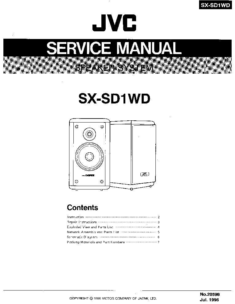 JVC JA-S31 Service Manual free download, schematics