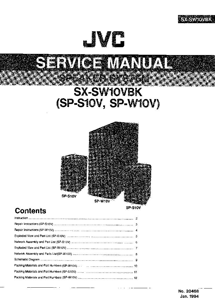JVC JA-S31 Service Manual free download, schematics