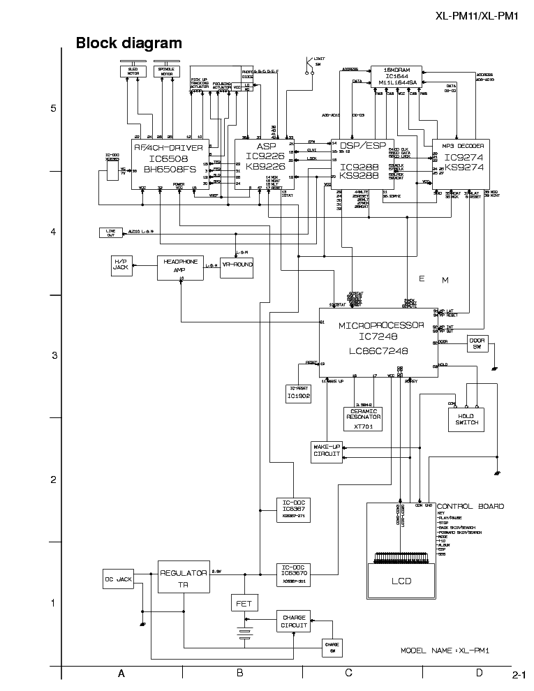 JVC HX-GD8 Service Manual free download, schematics