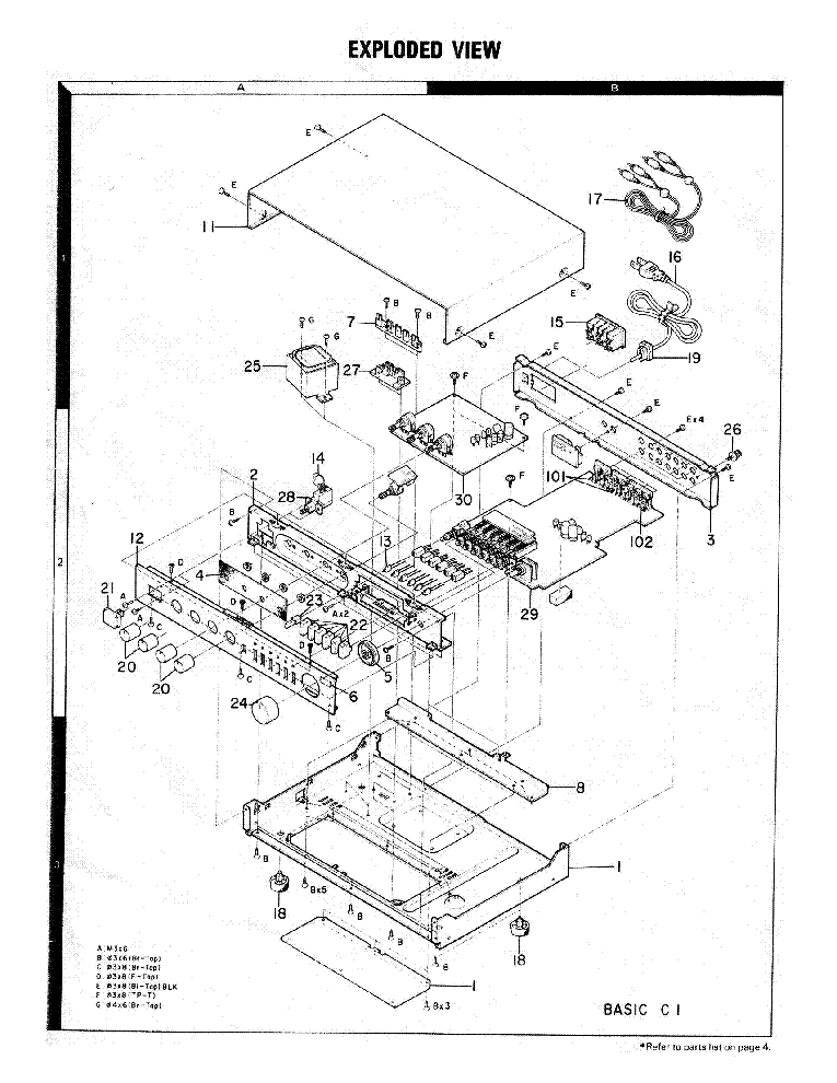 KENWOOD BASIC C1 STEREO CONTROL AMPLIFIER Service Manual