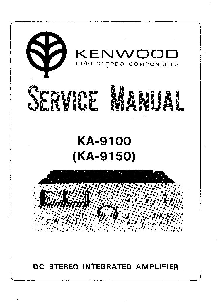 KENWOOD KSW-7000 Service Manual free download, schematics