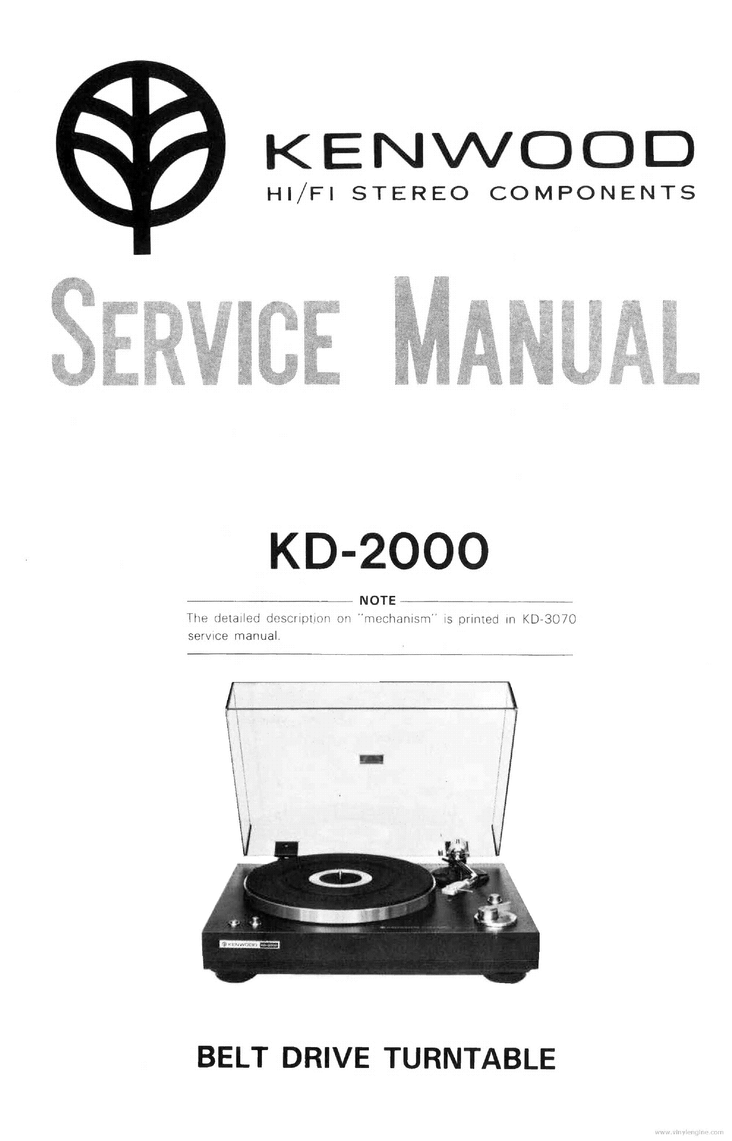 KENWOOD KT-917 Service Manual download, schematics, eeprom