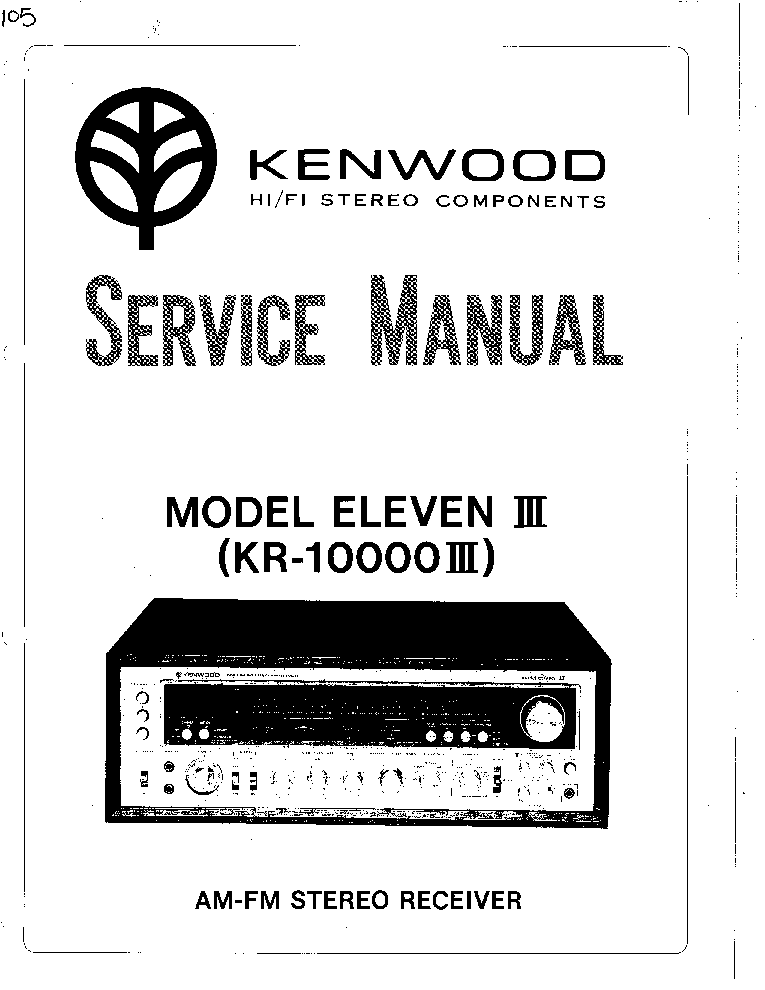 KENWOOD RD-HD5MD HD7 SM Service Manual free download