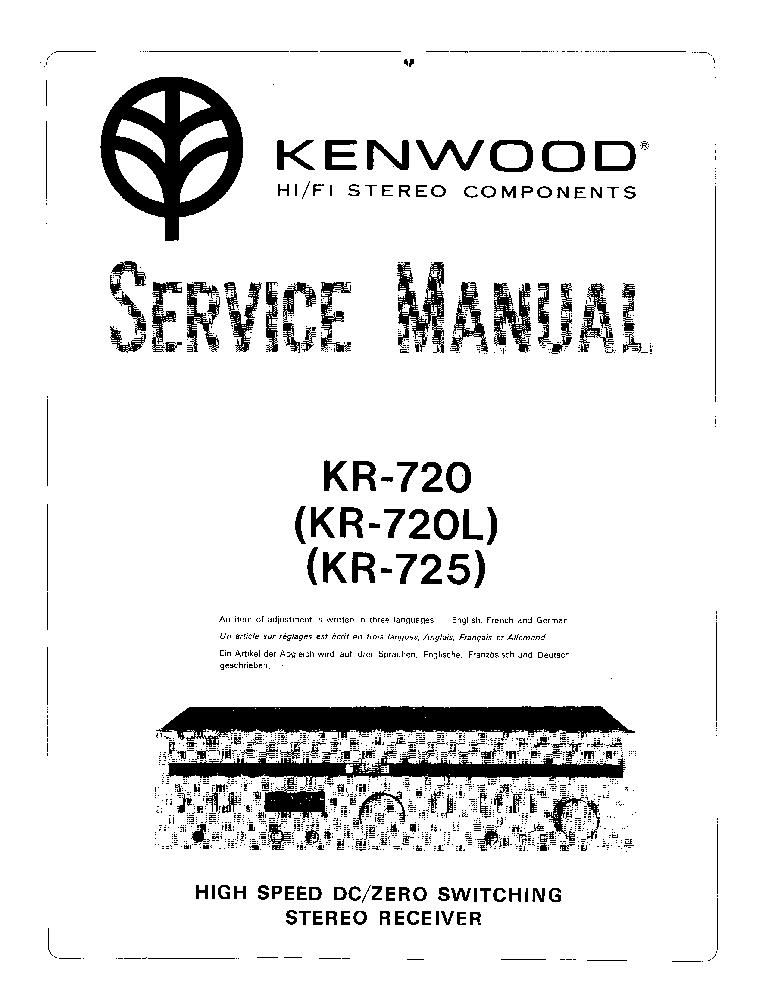 KENWOOD KA-990SD SCH Service Manual free download