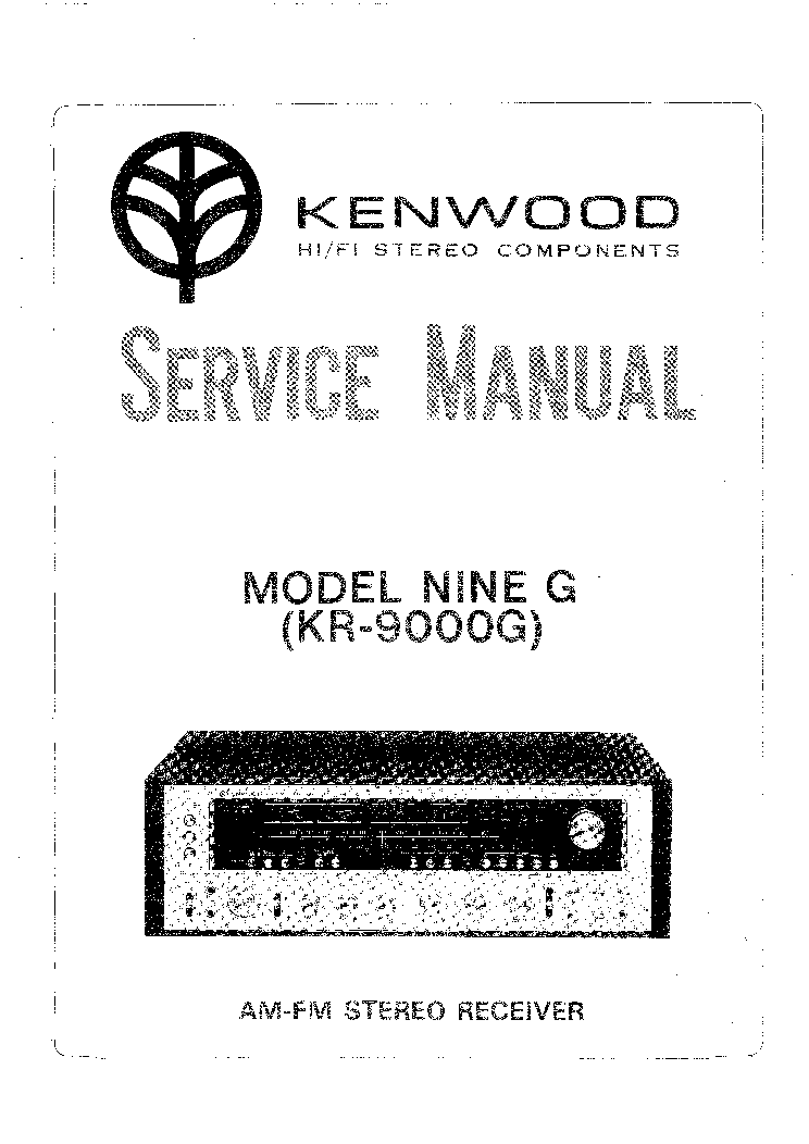 KENWOOD DP-7060 SM Service Manual download, schematics