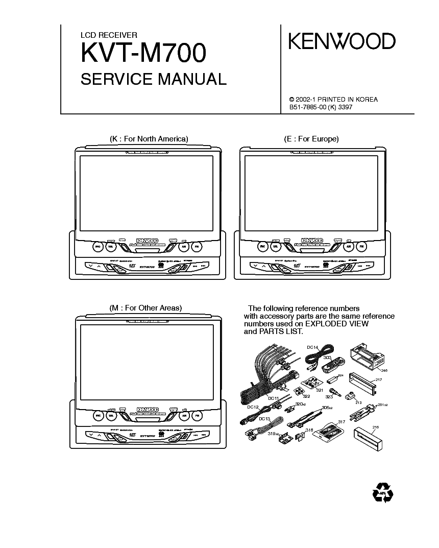 KENWOOD AT-50 SM Service Manual free download, schematics