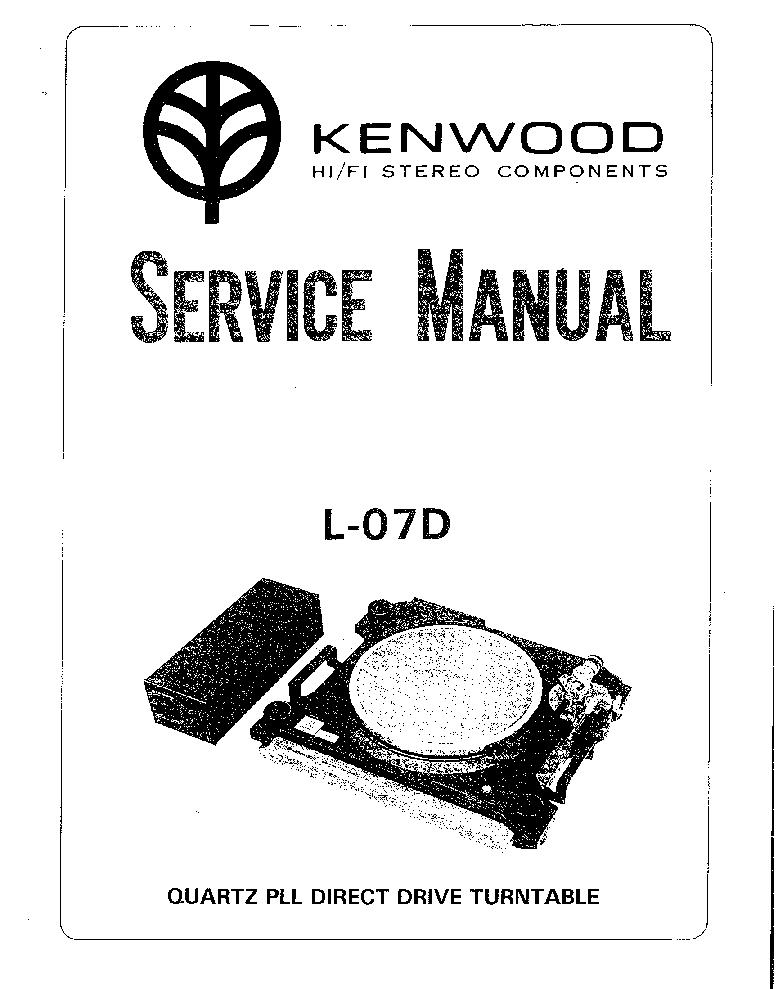 KENWOOD KA-6000 SCH Service Manual free download