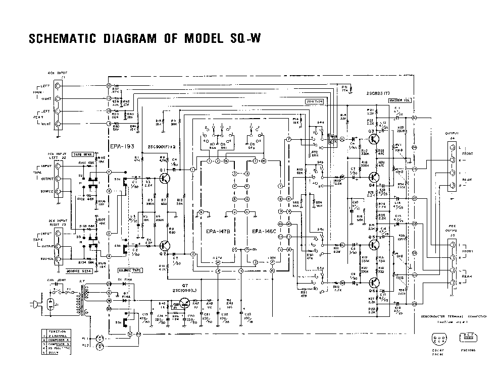 LAFAYETTE KT-600 PREAMPLIFIER 1959 SCH Service Manual