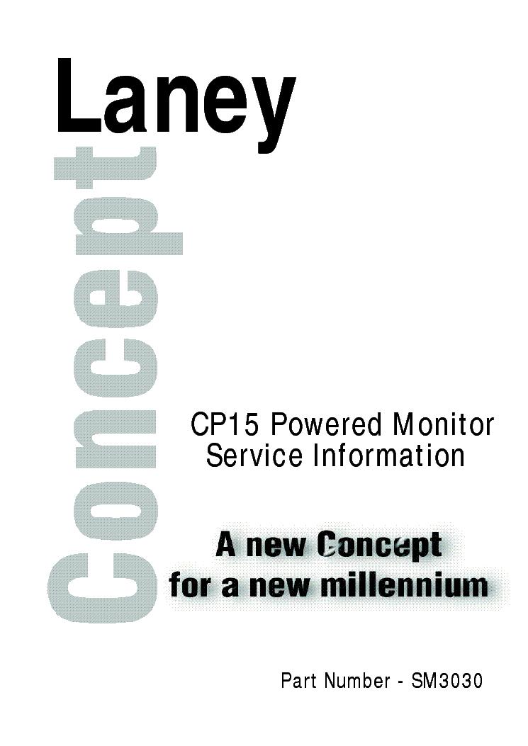 LANEY PL50R SCH Service Manual download, schematics