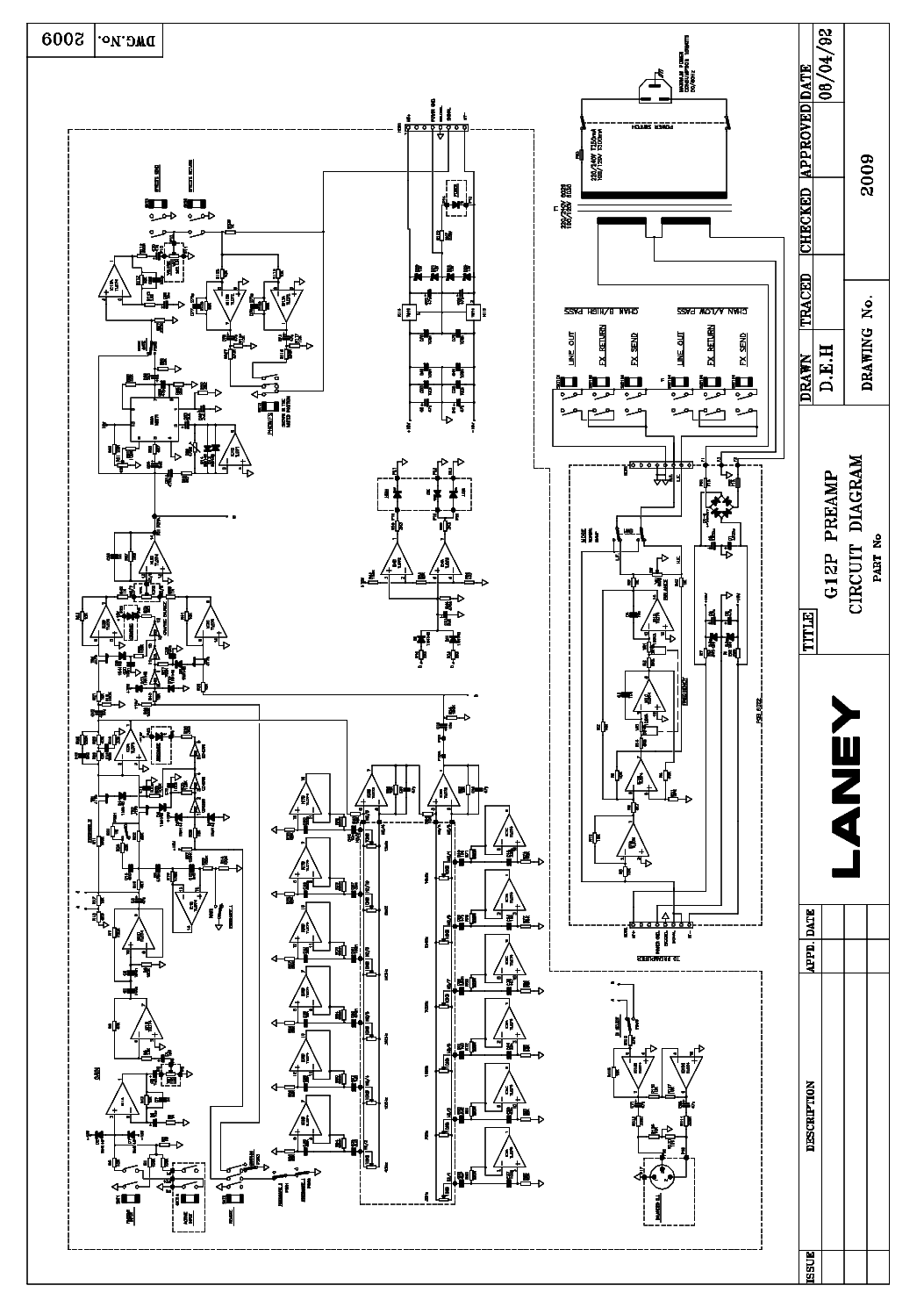 Laney Vc50 Vc100 Vh100r Amplifier Service Manual Download