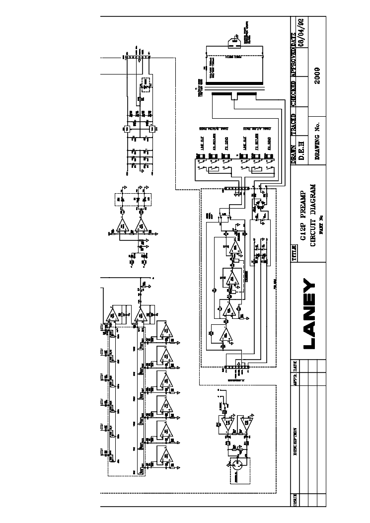 LANEY CUB-10 SCH Service Manual free download, schematics
