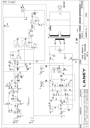 LANEY L30R Service Manual download, schematics, eeprom