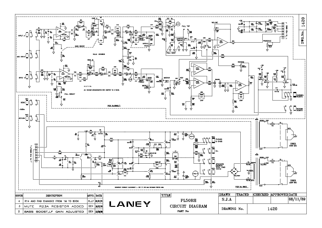 LANEY VC30 SCHEMATIC PDF DOWNLOAD
