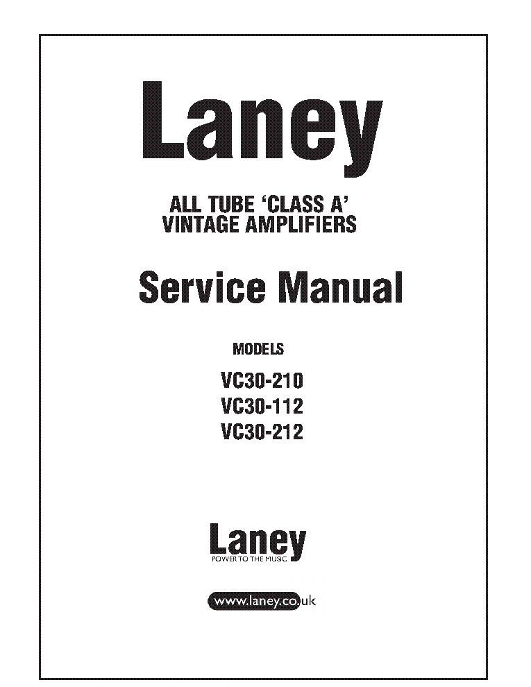 LANEY VC30-112-210-212 SCH Service Manual download