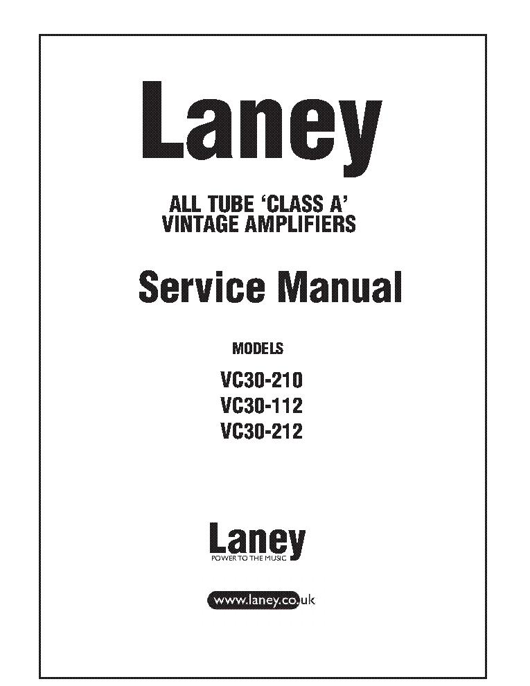 LANEY VC30 SCHEMATIC EBOOK