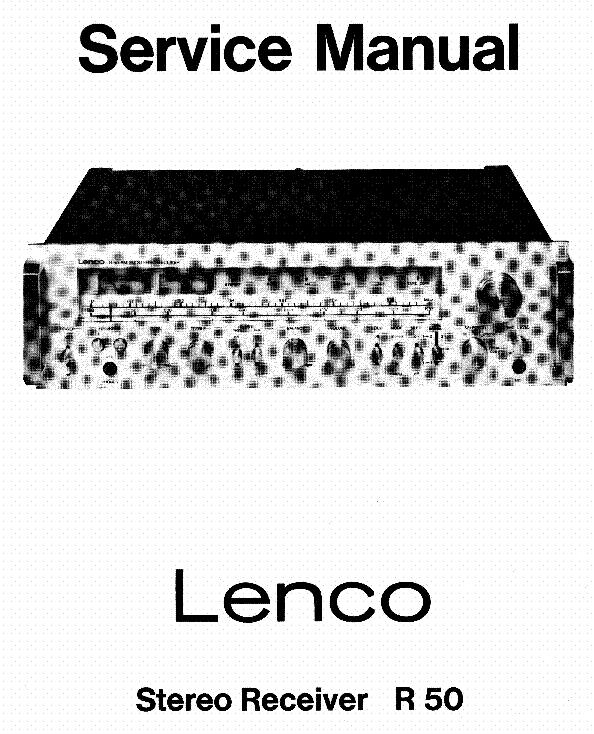 LENCO VV7 RIAA SCHEMATIC Service Manual download
