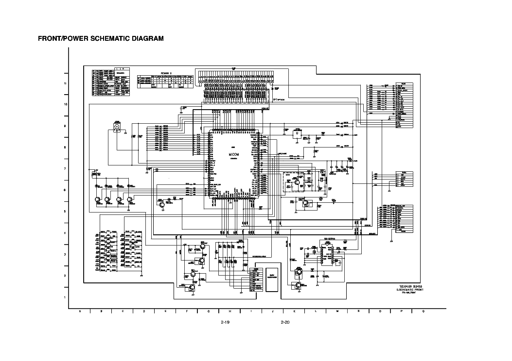 LG FFH-192-195 Service Manual download, schematics, eeprom