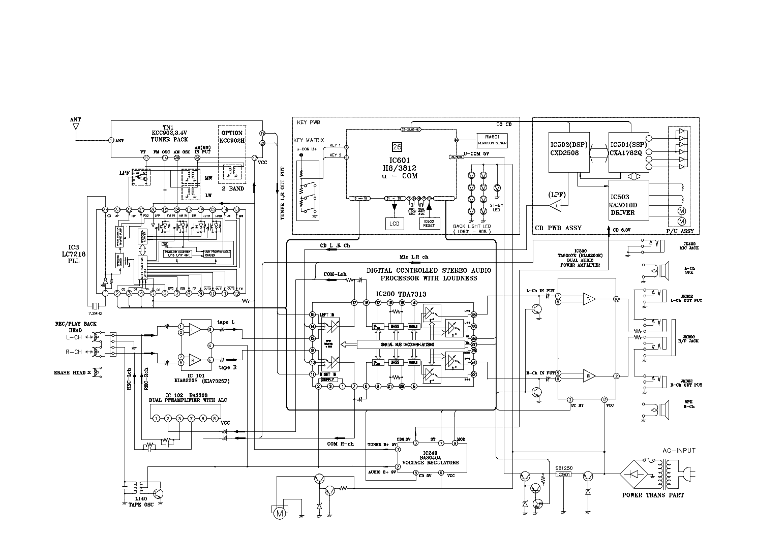 LG LH-T760-IA Service Manual download, schematics, eeprom
